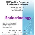 SHO/Level 1 Monthly Teaching Programme, Great Ormond Street Hospital