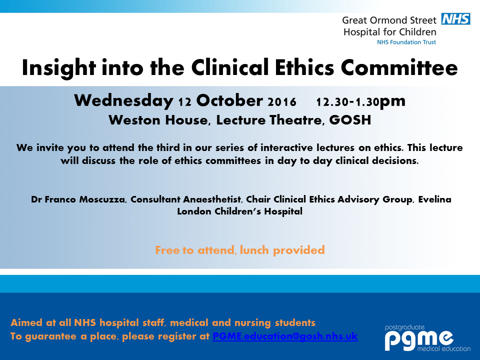 Insight into the Clinical Ethics Committee