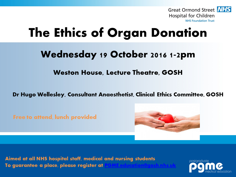 The Ethics of Organ Donation