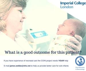 Neonatal Research Project Seeking Participants