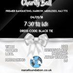 HIV orphanage fundraising ball